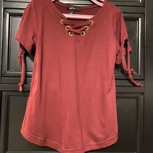 NWT Girls tie up top - Size 5/6